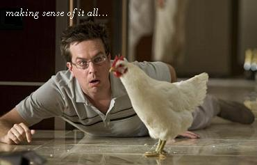 Chicken scene from The Hangover