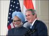 Bush_india